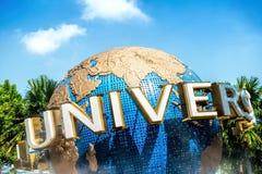 СТУДИИ UNIVERSAL СИНГАПУР СИНГАПУРА - 28-ое октября на 28,2014 -го октября Это парк на мире Sentosa курортов, Сингапуре Стоковые Фотографии RF