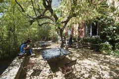 Студия Пола Cezanne, AIX-en-Провансаль, Франция Стоковые Изображения RF