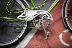 студия съемки детали bike Стоковая Фотография