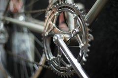студия съемки детали bike Стоковая Фотография RF