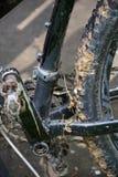 студия съемки детали bike Стоковое Изображение RF