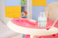стул младенца высокий Стоковая Фотография RF
