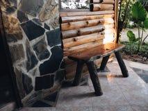 стул на доме Стоковые Изображения
