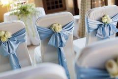 Стул свадьбы стоковые изображения rf
