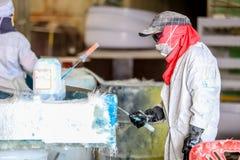 Стул фабрики и стеклоткань rowing Стоковые Изображения RF