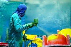 Стул фабрики и стеклоткань rowing Стоковая Фотография RF