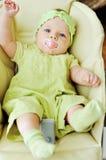 Стул хвастуна младенца стоковая фотография rf