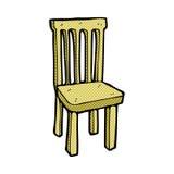 стул шуточного шаржа деревянный Стоковая Фотография RF