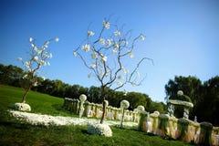 Напольное место венчания Стоковое фото RF