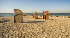 стулы пляжа 3 Стоковые Фотографии RF