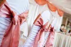 Стулья свадьбы Стоковые Изображения