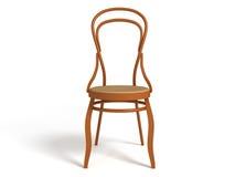 стул bentwood 3D Стоковые Изображения