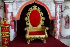 стул s santa Стоковые Изображения