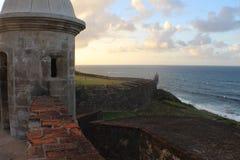 Стыковать внутри к Пуэрто-Рико стоковое фото rf