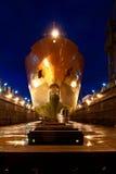 стыковать корабль стоковое изображение