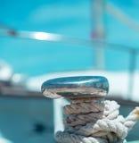 Стыковать на пристани в среднеземноморском Стоковое Изображение RF