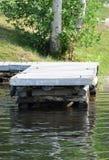 стыковка деревянная Стоковые Фотографии RF