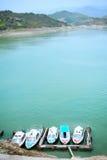 Стыковка яхты Стоковое Фото