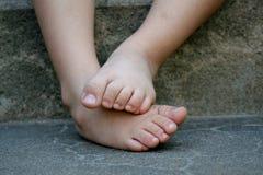 Стыдливые ноги стоковые изображения