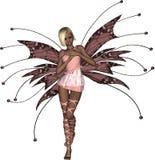 стыдливый fairy пинк Стоковые Фото