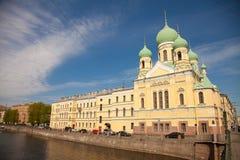Ст Петерсбург - святейший висок Issidorovsky Стоковая Фотография RF