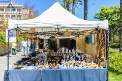 Сувенирный магазин в Сардинии, Италии Стоковое фото RF