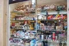 сувенирный магазин в Стокгольме Стоковое фото RF