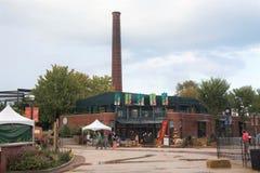 Сувенирный магазин на зоопарке Чикаго Lincoln Park, Иллинойсе стоковое изображение rf