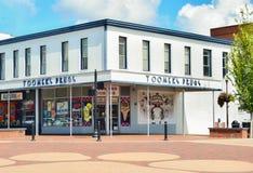 Сувенирный магазин Toomers угловой известный перед каштановым университетом стоковые фото