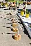 Сувениров egret США положения Вирджинии рынок больших сельский Стоковое Фото