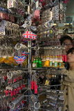 Сувениры кольца для ключей Великобритании для туристического бизнеса стоковое фото rf