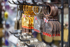 Сувениры кольца для ключей Лондона Стоковая Фотография RF