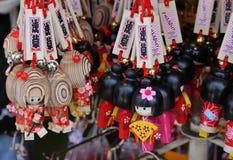 Сувениры куклы Kokesi Стоковые Изображения