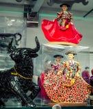 Сувениры мозаики Барселоны Стоковая Фотография