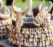 Сувениры на рынке Мьянме Стоковое фото RF