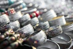 Сувениры на рынке Мьянме Стоковая Фотография