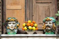 Сувениры от Сицилии Стоковые Изображения RF