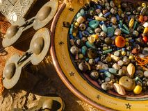 Сувениры покупок в Марокко стоковая фотография rf
