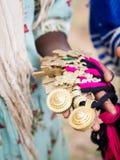 Сувениры продали местными детьми близко к Axum, Эфиопии Стоковое фото RF