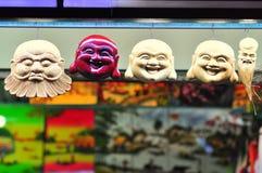 Сувениры для продажи в рынке ночи в Вьетнаме стоковое изображение