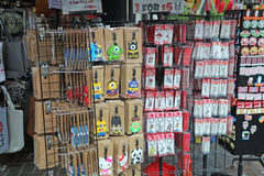 Сувениры для продажи в Сингапуре Стоковое Изображение