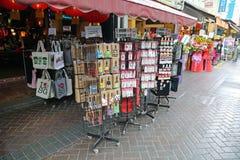 Сувениры для продажи в Сингапуре Стоковая Фотография RF
