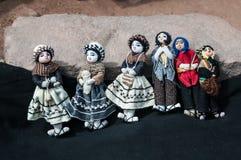 Сувенир кукол ремесленничества Стоковые Фотографии RF