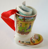 сувенир тысяча rou деноминации одного ботинка Стоковая Фотография RF