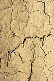 суглинок треснутый предпосылкой Стоковая Фотография