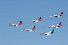 судовождение mig группы 29 самолет-истребителей Стоковое Изображение