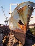судостроение корабля ремонта Стоковое Изображение