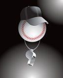 судья на вышке бейсбола бесплатная иллюстрация