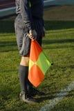 судья-рефери футбола Стоковая Фотография