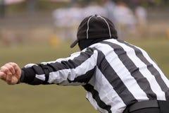 Судья-рефери футбола Стоковые Фотографии RF